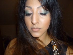 Sleek palette and Barry M eyeshadow palette, MAC half n half lipstick