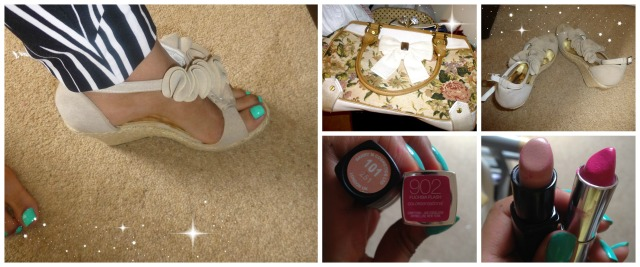 Lips - Maybelline and Barry M, Shoes, Bag - River Island, Nails - Barry M, pink shades