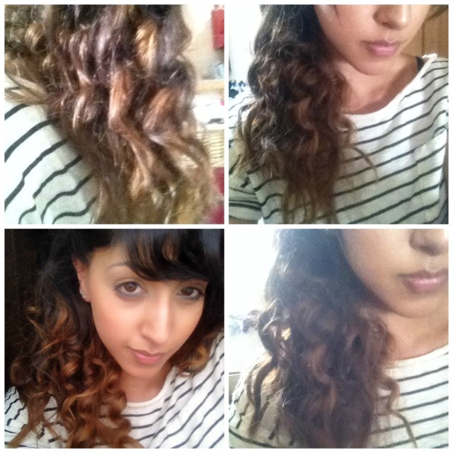 Amika curler results