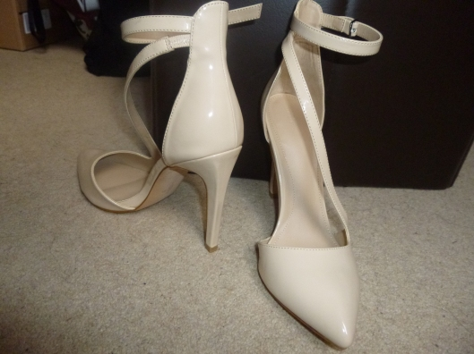 Zara cream shoes